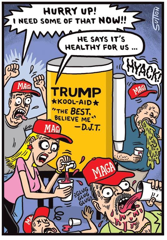 Trump: He's Just Like Us! | The Nib