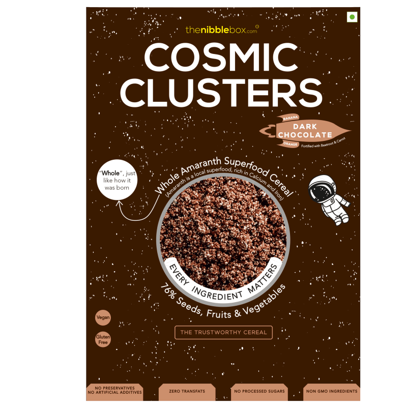 TheNibbleBox Cosmic Cluster Dark Chocolate