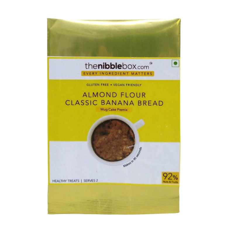 TheNibbleBox Almond Flour Mug Cake Mix Banana