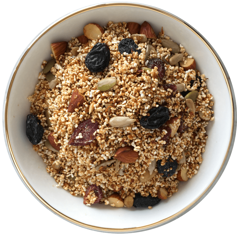 TheNibbleBox Amaranth Amore Granola