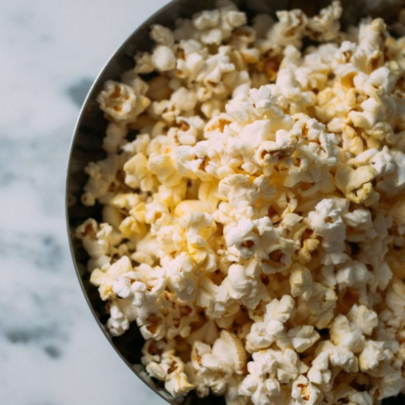 TheNibbleBox Cacao Butter Popcorn Classic Salted