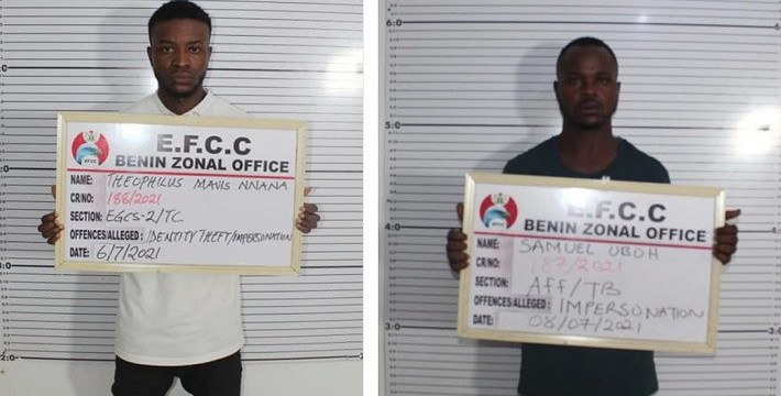 Court jails two internet fraudsters in Edo State