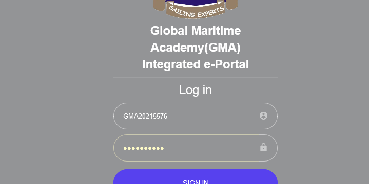 Global Maritime Academy Application form is out
