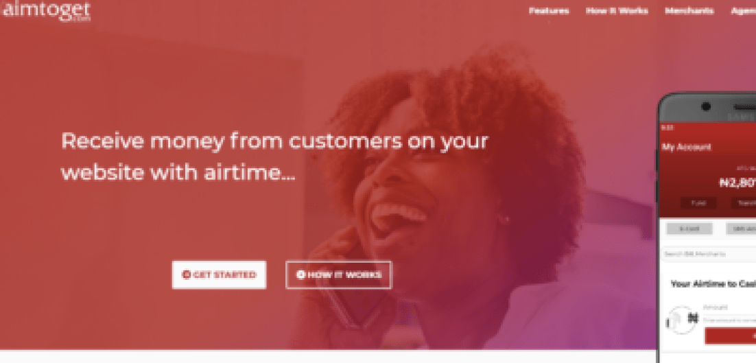 aimtoget convert airtime to cash in Nigeria