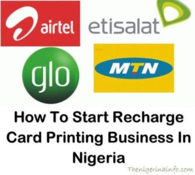 recharge card printing business nigeria