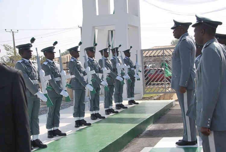 Ranks in the Nigeria Customs Service