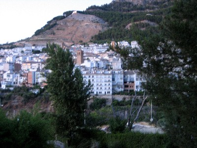 Another shot of the town, as seen from our hotel.