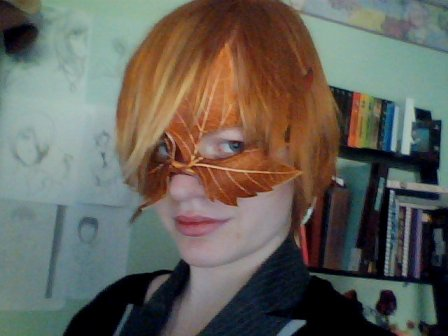 TIger Lilly Mask 2