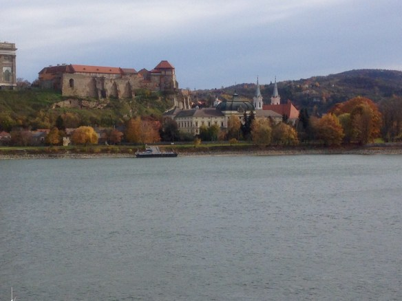 Another view of Esztergom from across the river.