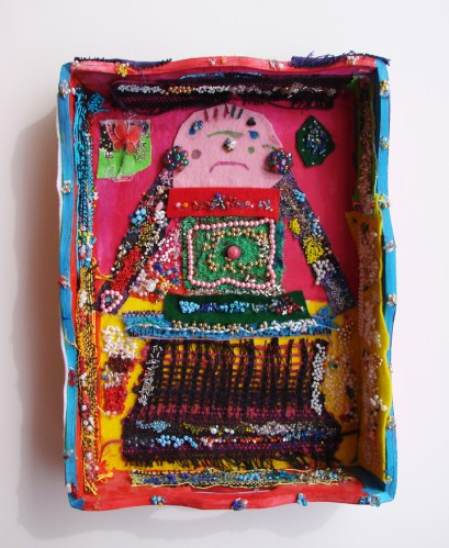 Dominque Bugeaud, Tea Tray, fabric