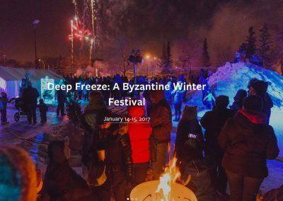 Deep Freeze 2017 | Community Artists