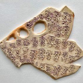 Ceramic Wall Hanging by Kim Hung Ho