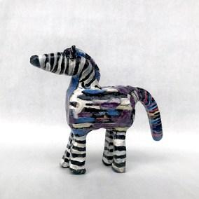 Alana Gersky Rainbow Zebra (2019)
