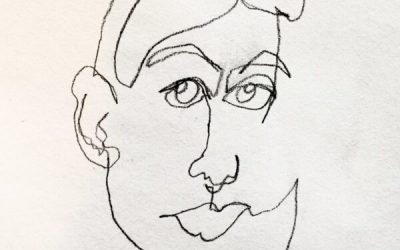 Project 5 – Blind Contour Drawing