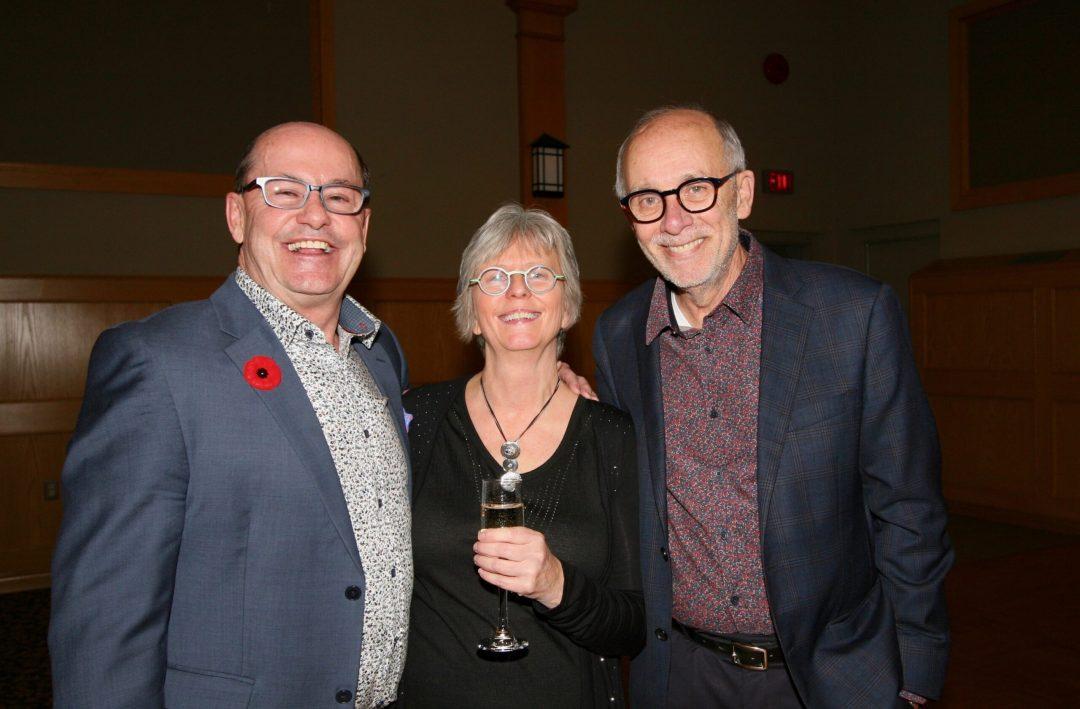 Wendy Hollo with Stephen Mandel & Bruce Kirkland