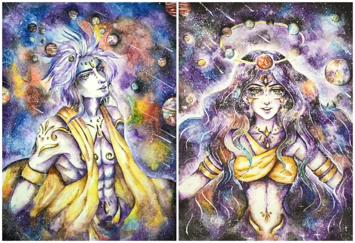 Galaxy Prince and Galaxy Princess