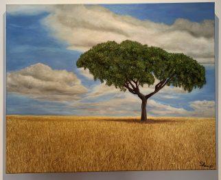 Leziria (Portuguese landscape) - Oil on canvas
