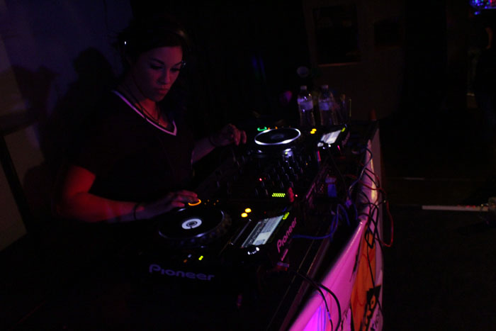 DJ Angel Pitch chose to guest DJ at Sidewinders Bar in Albuquerque, New Mexico.