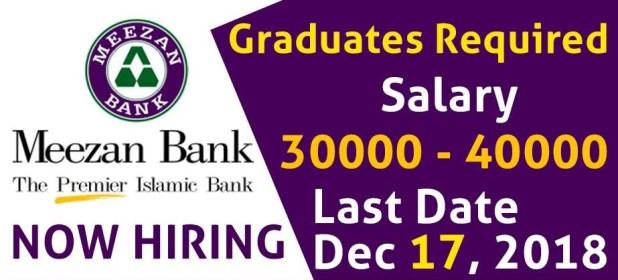 Pakistan Meezan Bank Jobs 2021 Online Registration Schedule Application Submission