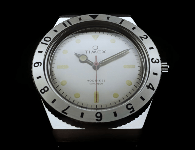 A Focus on Q Timex Hodinkee Bezel