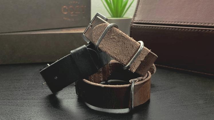 3-Ring NATO, Single-Pass Adjustable, 4-Ring NATO from Cozy Handmade
