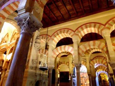 Horseshoe arches of the Mezquita, Córdoba