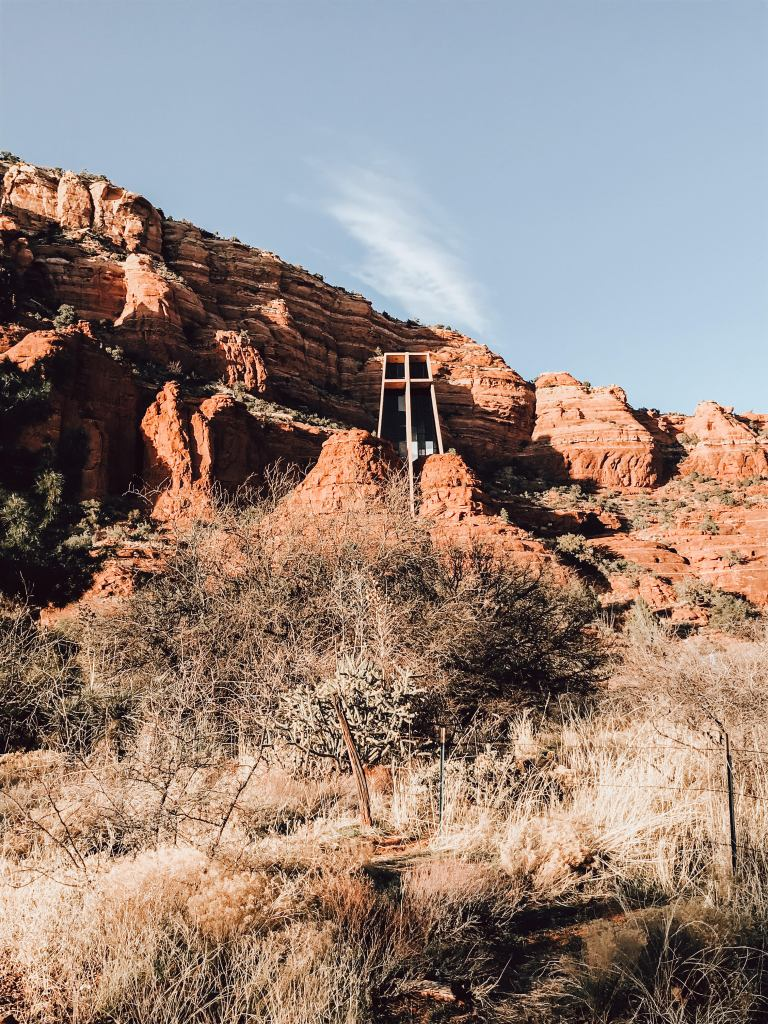 Chapel of the Holy Cross - Sedona - Day trips from Phoenix to beat the heat