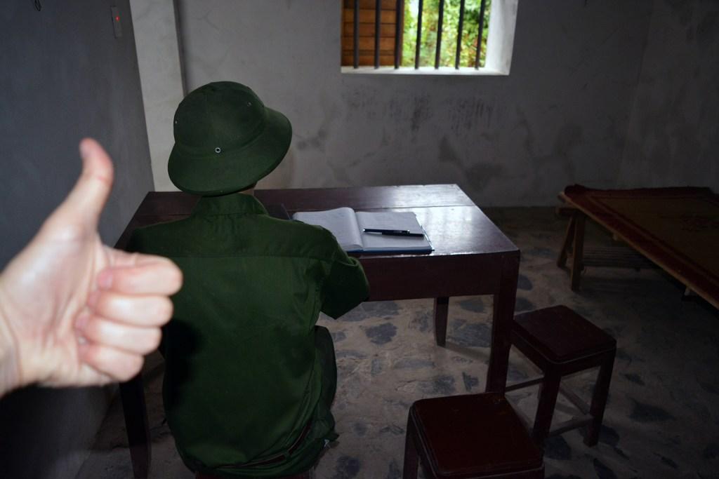 Jail receptionist doing a splendid job