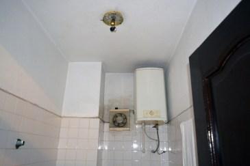 Sad bathroom in Ha Long Happy Hostel, Ha Long City, Vietnam