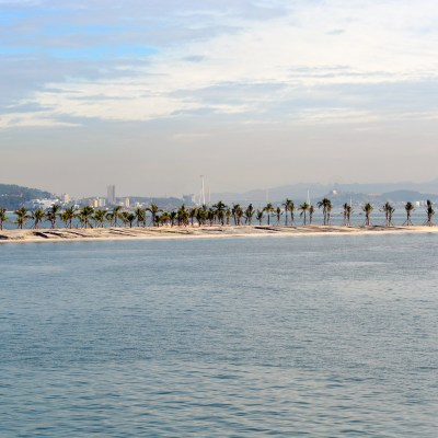 Arriving in Ha Long Bay, Vietnam