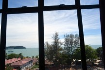 View from Langgura Baron Resort, Langkawi island