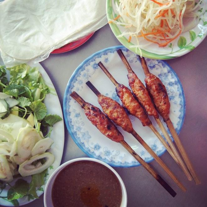 nem nuong tai phu Hue thenomadqueen