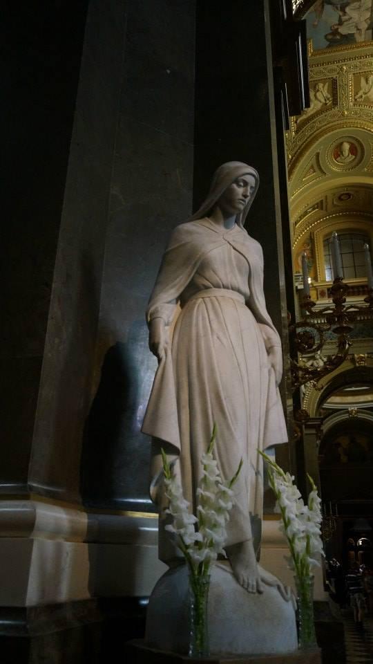 Statue in the church