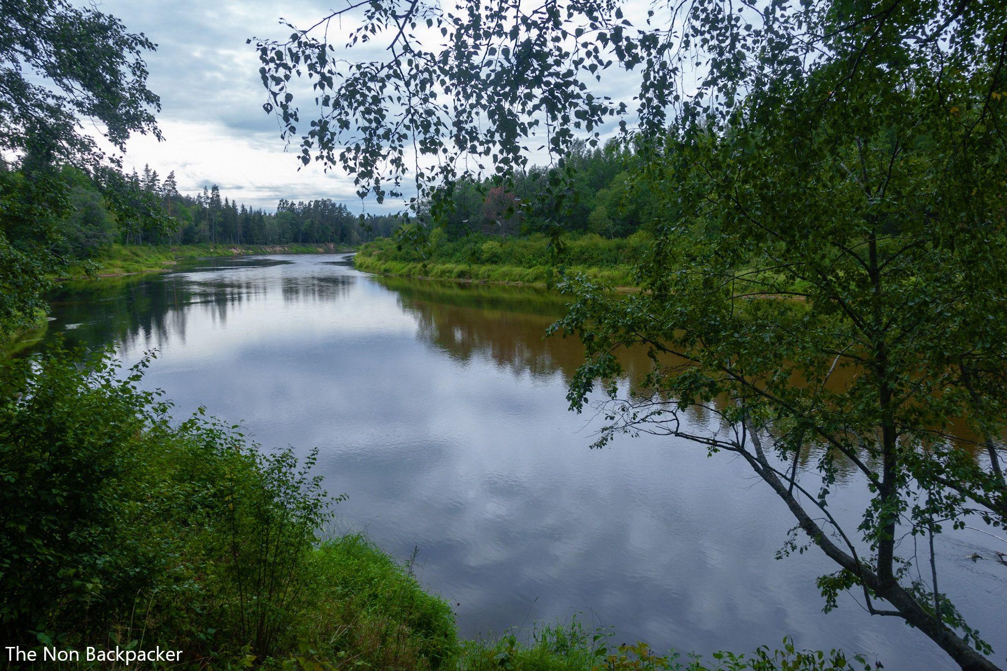 The Cirulisi Nature Trail River