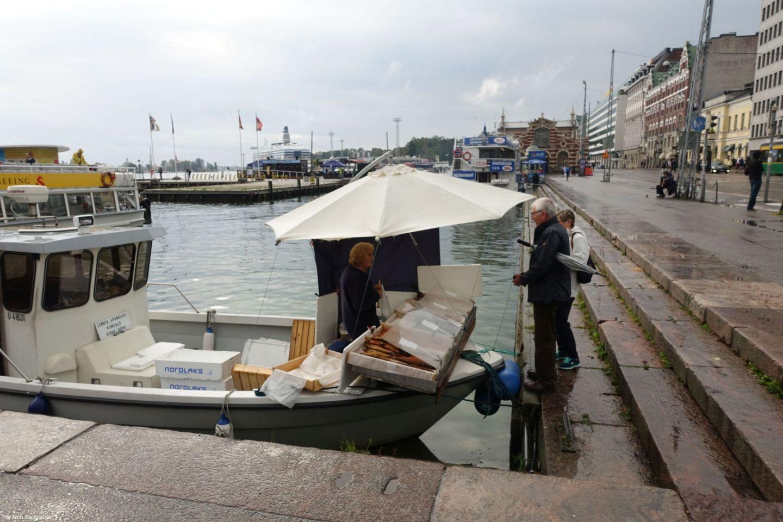 Helsinki Market Fisherman