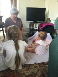We went to visit Grandma Bailey.