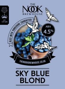 Sky Blue Blond