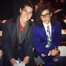 Sam Way & Harry J Bartlett, Front Row at Y.M.C