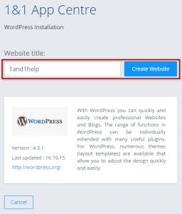 travel blog install wordpress