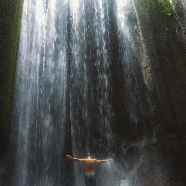 16 backpacker things to do in Bali waterfalls