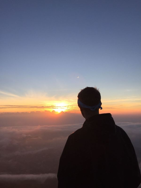 A Climb up the Volcanic Mount Batur