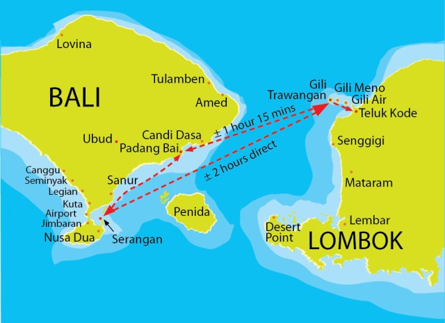 16 backpacker things to do in Bali, Bali to the Gili islands by boat