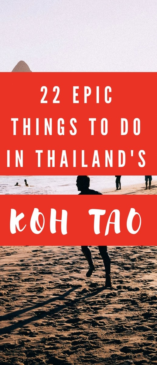 22 best things to do in Koh Tao Thailand