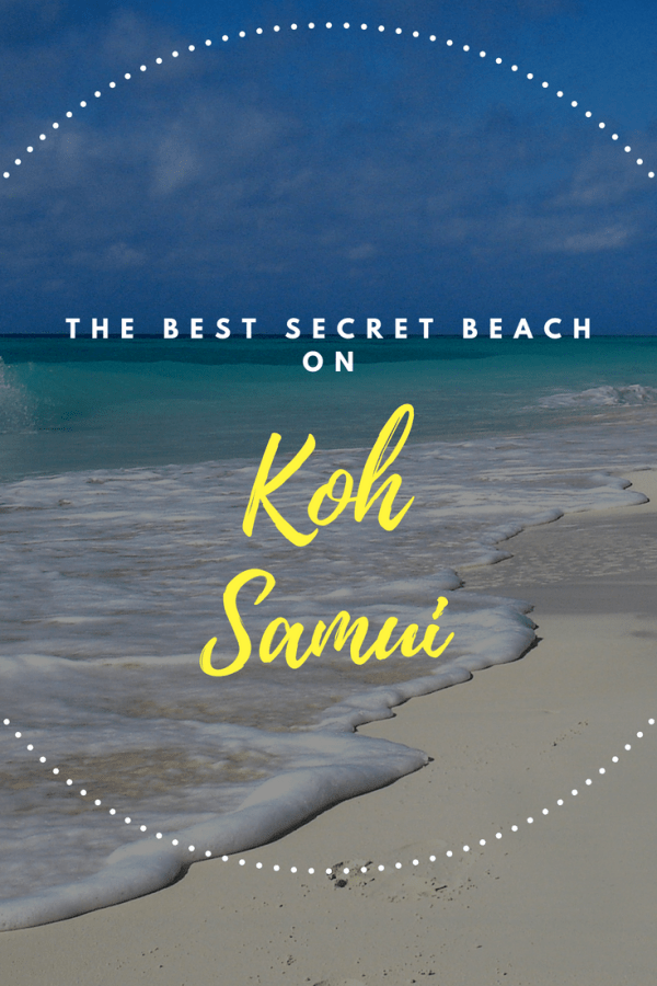 Best secret beach on Koh Samui