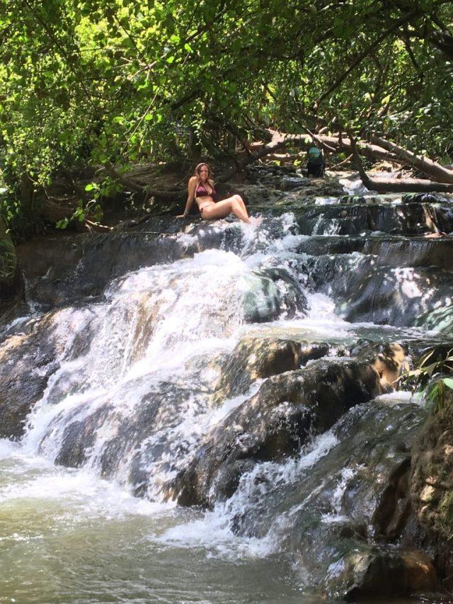 hot springs waterfall Krabi Thailand
