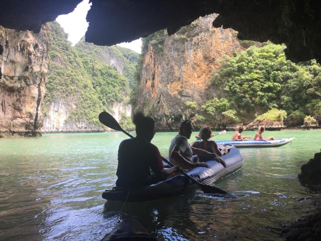 james bond island movie tour kayaking