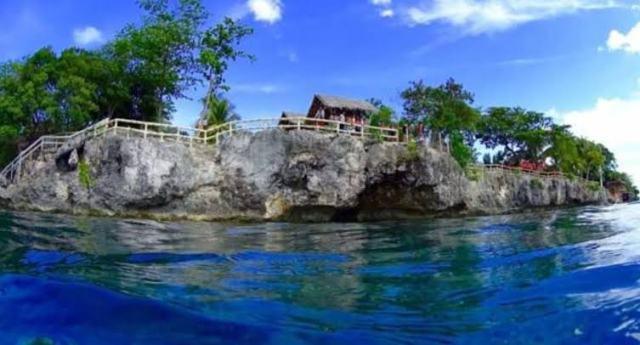 Molave cove cliff dive exit