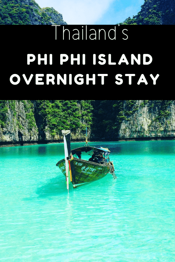 Phi Phi island over night stay and Maya Bay boat tour
