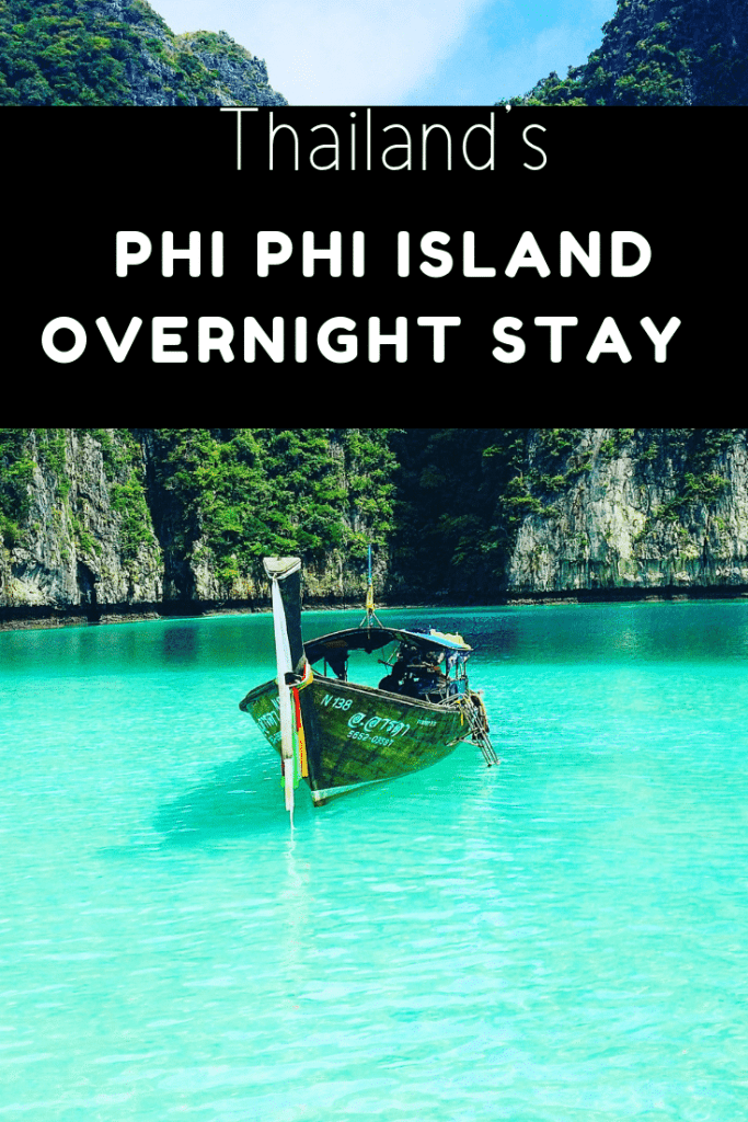 Phi Phi island overnight stay guide