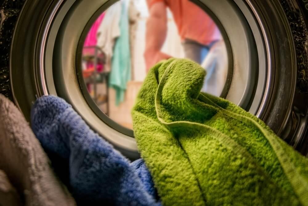 Inside Washing Machine